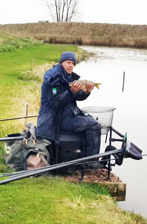 Fishing at Oak Tree Fishery