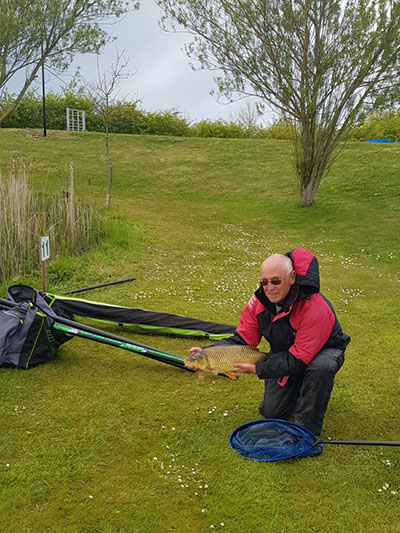 Fishing at Oak Tree Fisheries